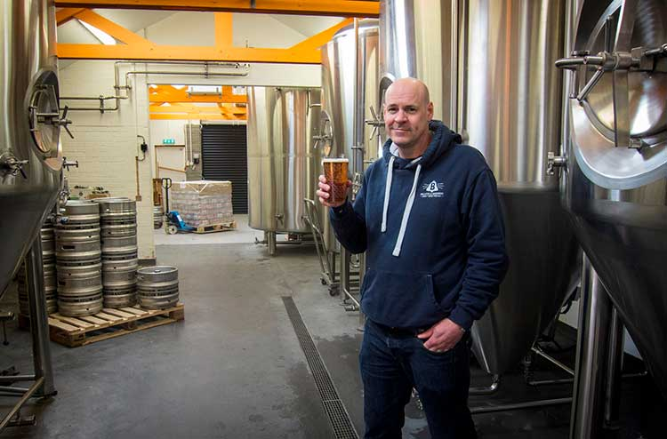 Kieran Middleton, Bellfield Brewery Head of Brewing and Business Development
