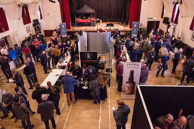 Fife Whisky Festival 2019. Photo credit Dan Mosley.