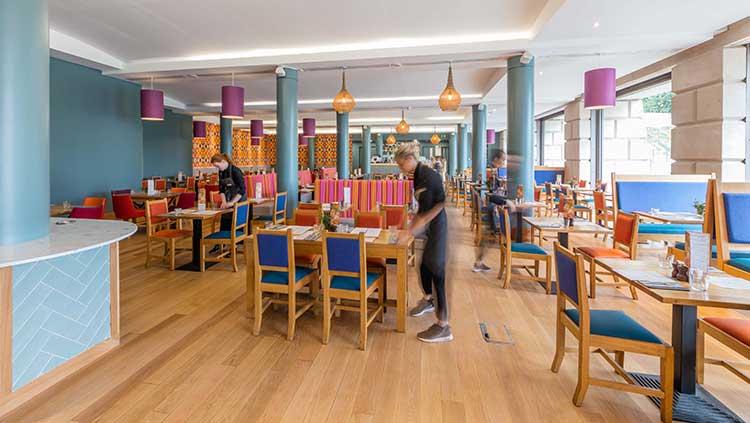The Scottish Cafe & Restaurant in Edinburgh